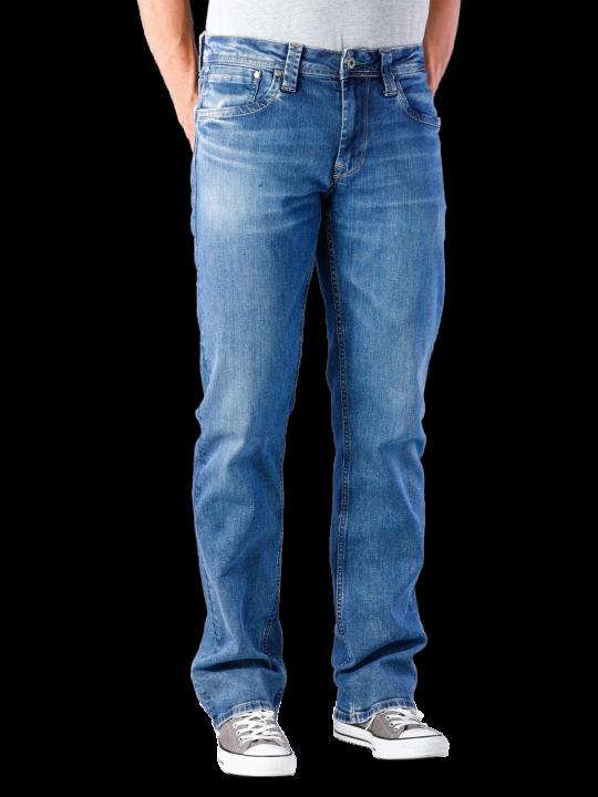 Pepe Jeans Kingston Zip Jeans Straight Fit  Herren Jeans
