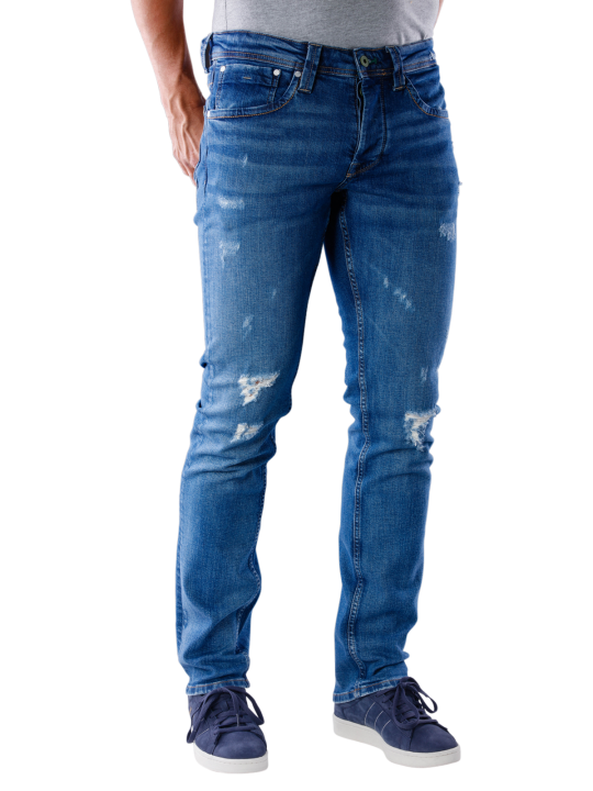 Pepe Jeans Cash Wiser Wash Jeans Straight Fit  Herren Jeans