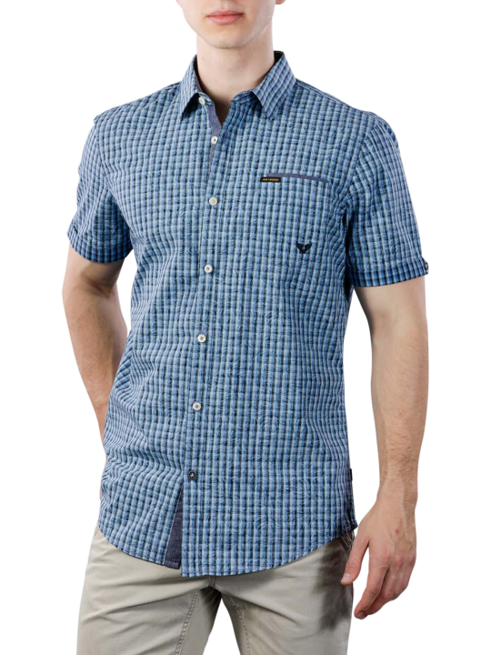 PME Legend Short Sleeve Shirt Yd Check All-Over Print