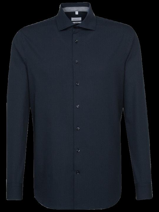 Seidensticker Hemd Shaped Fit Spread Kent Patch2