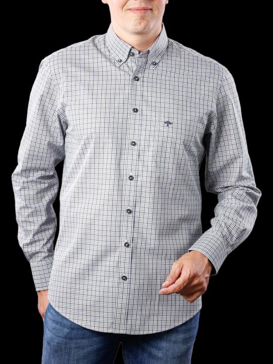 Fynch-Hatton Combi Check Shirt