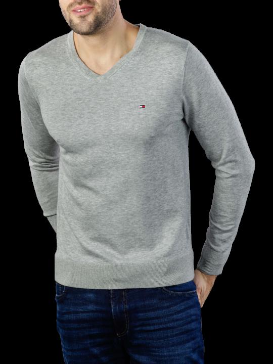Tommy Hilfiger Core Cotton Silk V-Neck Pullover