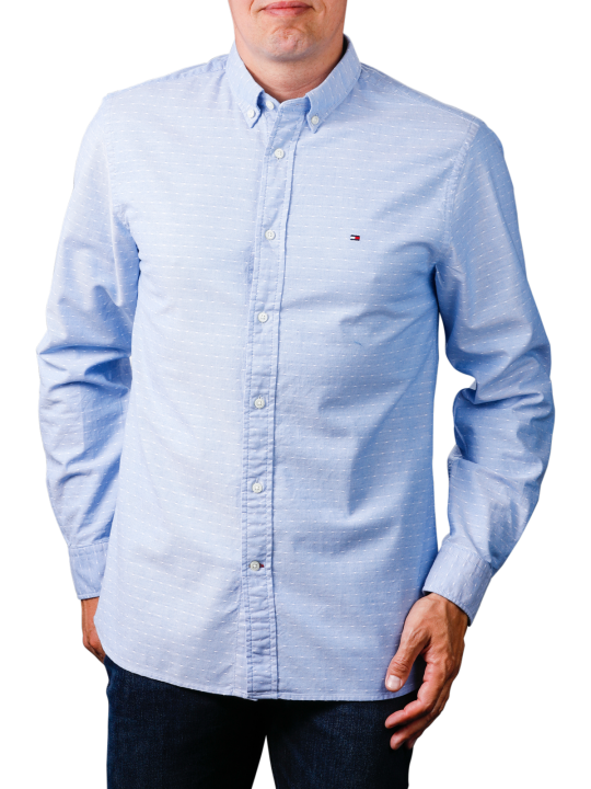 Tommy Hilfiger Melange Diamond Dobby Shirt  Herren Hemd